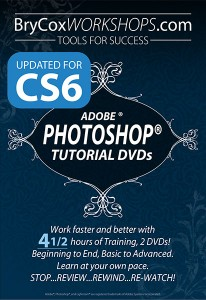 Photoshop Tutorial DVDs