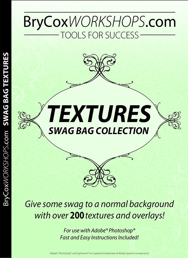 Swag Bag Texture And Photoshop Overlay Collection
