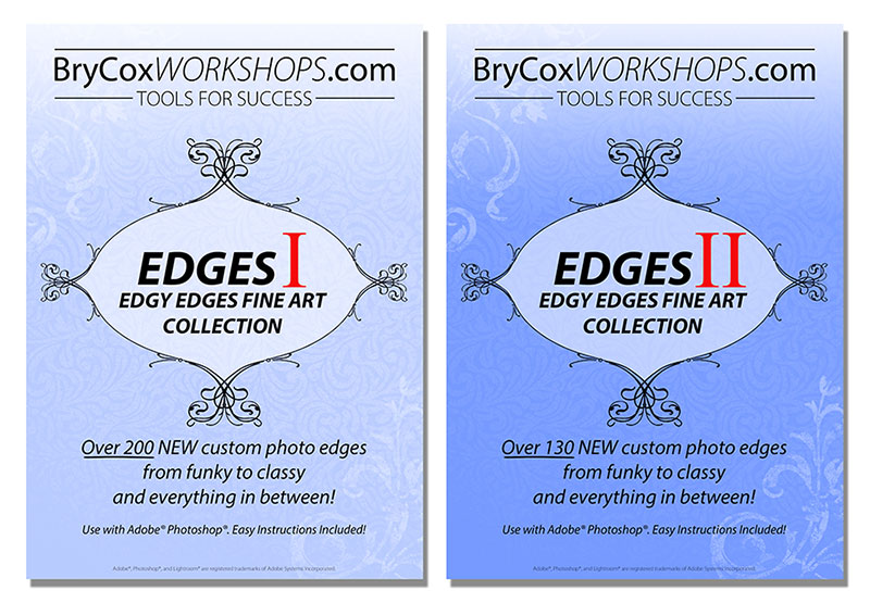 Edgy Edges Volumes 1 & 2 Bundle