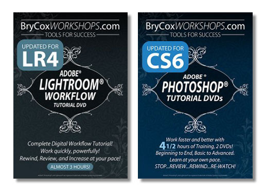 Lightroom and Photoshop Workflow Tutorial Bundle