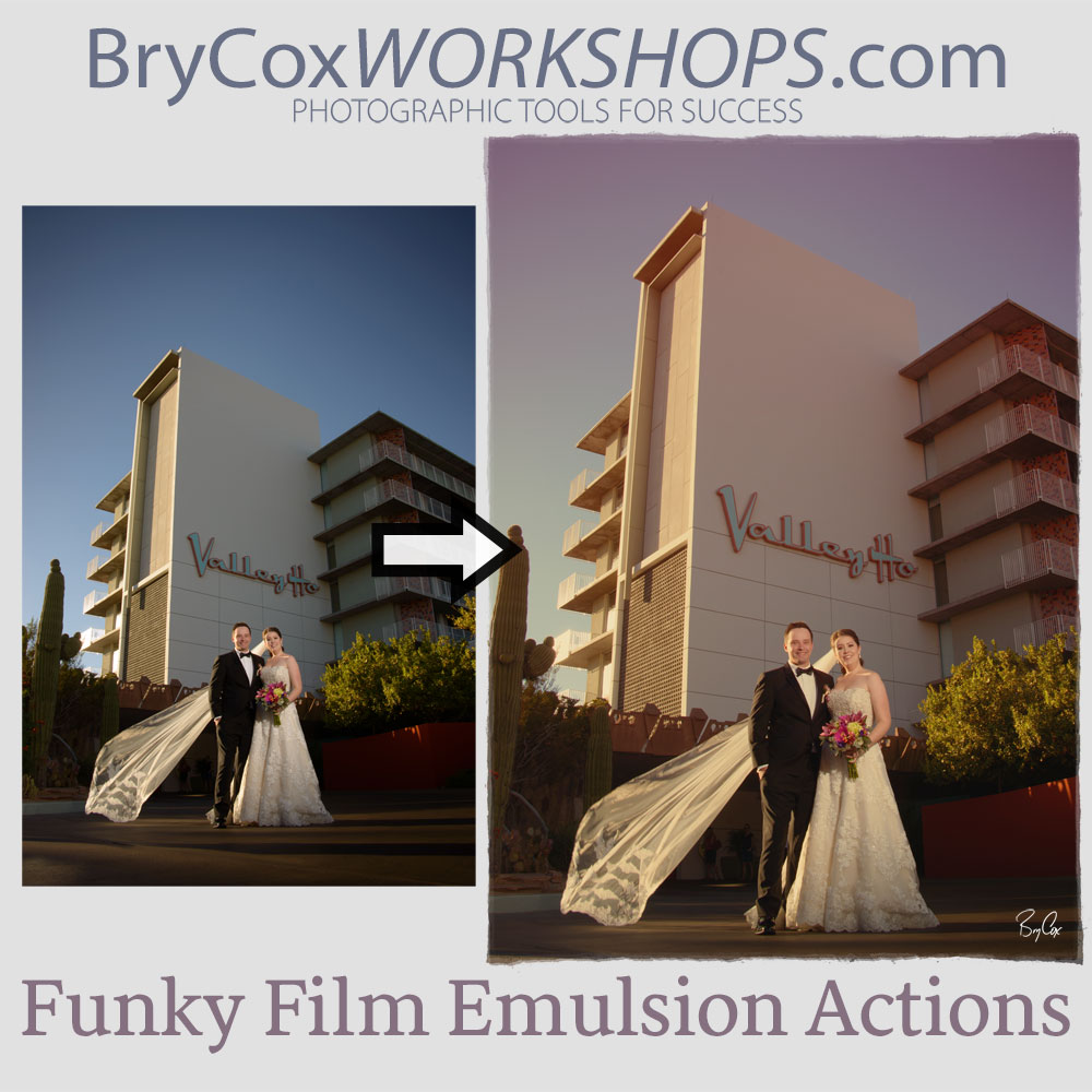 Funky Film Emulsion Actions
