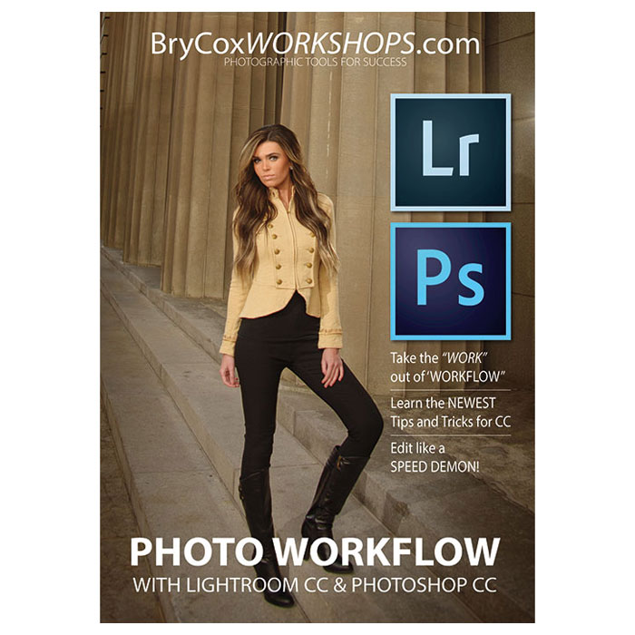Photo Workflow with Adobe Lightroom CC & Photoshop CC
