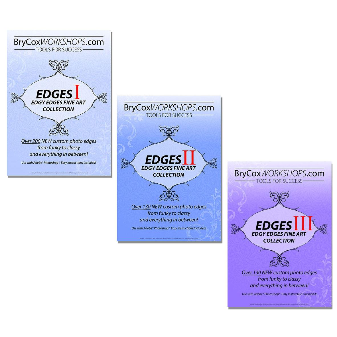 Edgy Edges Volumes 1, 2, & 3 Bundle