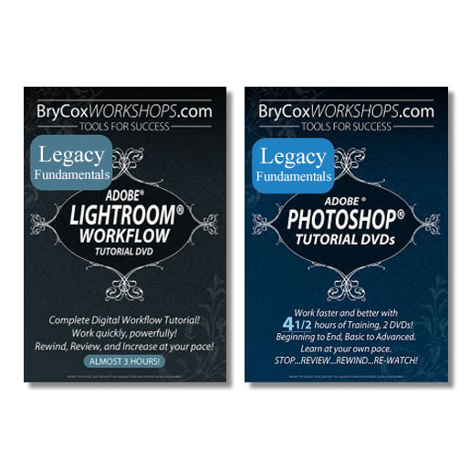 Legacy Training – Lightroom and Photoshop Workflow Tutorial Bundle